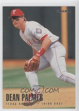 1996 Fleer Team Sets - Texas Rangers #12 - Dean Palmer