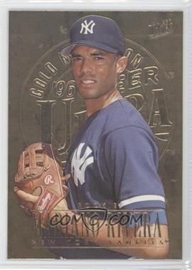 1996 Fleer Ultra - [Base] - Gold Medallion Edition #105 - Mariano Rivera
