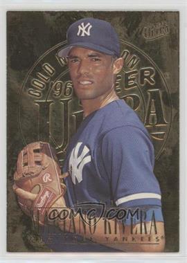 1996 Fleer Ultra - [Base] - Gold Medallion Edition #105 - Mariano Rivera
