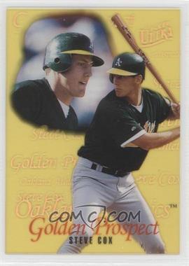 1996 Fleer Ultra - Golden Prospects #5 - Steve Cox