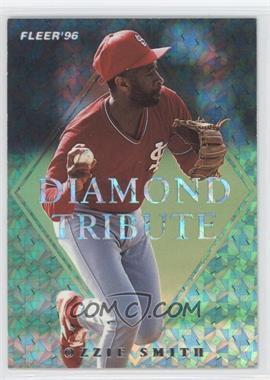 1996 Fleer Update - Diamond Tribute #9 - Ozzie Smith