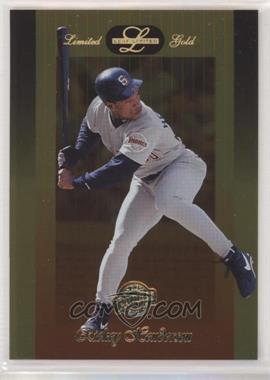 1996 Leaf Limited - [Base] - Gold #78 - Rickey Henderson