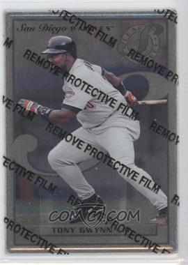 1996 Leaf Preferred - Steel #48 - Tony Gwynn