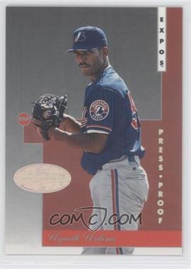 1996 Leaf Signature Series - [Base] - Platinum Press Proof #90 - Ugueth Urbina