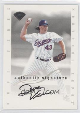 1996 Leaf Signature Series - Signatures Update #DAVE - Dave Veres
