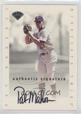 1996 Leaf Signature Series - Signatures Update #PAMA - Pat Mahomes