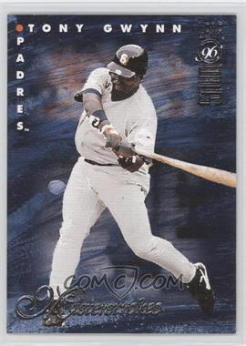 1996 Leaf Studio - Masterstrokes - Sample #1 - Tony Gwynn