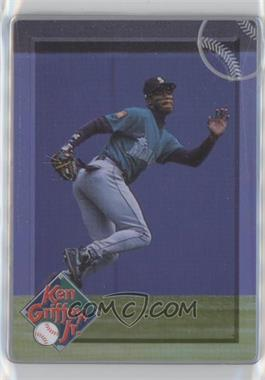 1996 Metallic Impressions Major League Metal Ken Griffey Jr. - Collector's Tin [Base] #4 - Ken Griffey Jr.