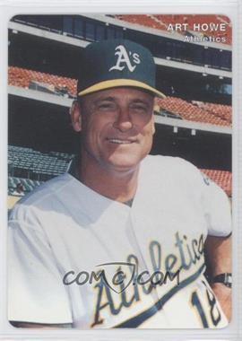 1996 Mother's Cookies Oakland Athletics - Stadium Giveaway [Base] #1 - Art Howe
