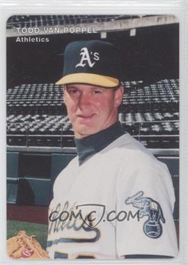 1996 Mother's Cookies Oakland Athletics - Stadium Giveaway [Base] #25 - Todd Van Poppel
