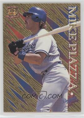 1996 Pacific Prisms - [Base] - Gold #P-38 - Mike Piazza
