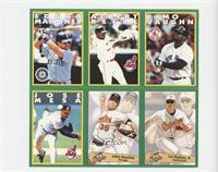 Edgar Martinez, Albert Belle, Mo Vaughn, Jose Mesa, Mike Mussina, Cal Ripken Jr.