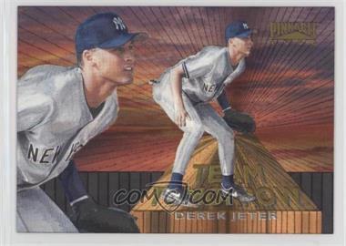 1996 Pinnacle - Team Tomorrow #9 - Derek Jeter