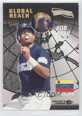 1996 Pinnacle Aficionado - [Base] - Artist's Proof #153 - Bobby Abreu