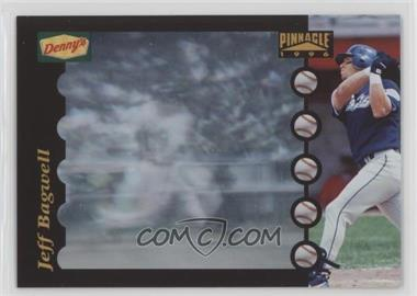 1996 Pinnacle Denny's Instant Replay Full Motion Holograms - [Base] #6 - Jeff Bagwell