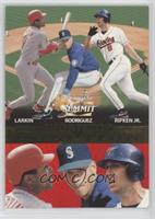 Barry Larkin, Alex Rodriguez, Cal Ripken Jr. /1500