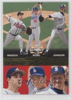 Greg Maddux, Hideo Nomo, Randy Johnson /1500