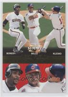 Barry Bonds, Ryan Klesko, Albert Belle /1500