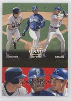 Jim Edmonds, Johnny Damon, Ken Griffey Jr. /1500