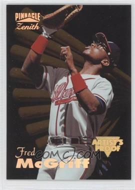 1996 Pinnacle Zenith - [Base] - Artist's Proof #10 - Fred McGriff