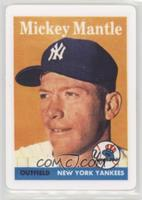 Mickey Mantle (1958 Topps) /2401