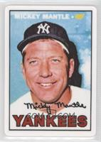 Mickey Mantle (1967 Topps) /2401