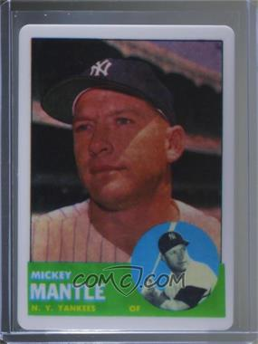 1996 Rn China Topps Porcelain Mickey Mantle Reprints Base