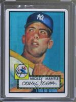 Mickey Mantle (Serial Numnber on Left; Hobby Only; 1,000 Produced) #/1,000