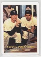 Mickey Mantle, Yogi Berra /2401