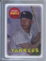 Mickey Mantle (Serial Number is Blank on Bottom Right) #/2,401