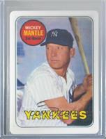 Mickey Mantle (Serial Number on Upper Right) #/2,401