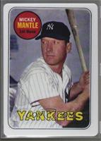 Mickey Mantle (Serial Number is Blank on Upper Right) [Noted] #/2,401