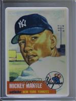Mickey Mantle (Gray Back; Serial Number on Right Side; Numbered to 2401) /2401