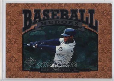 1996 SP - Baseball Heroes #NoN - Ken Griffey Jr.