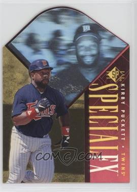 1996 SP - Holoview Special FX - Die-Cut #16 - Kirby Puckett