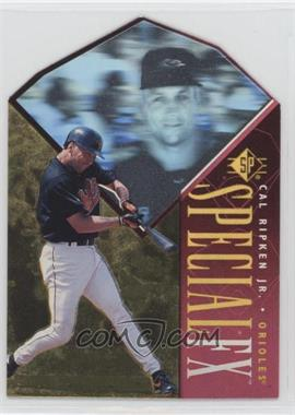1996 SP - Holoview Special FX - Die-Cut #20 - Cal Ripken Jr.