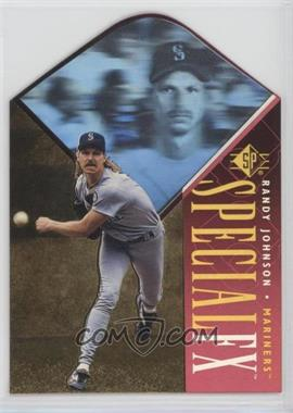 1996 SP - Holoview Special FX - Die-Cut #31 - Randy Johnson