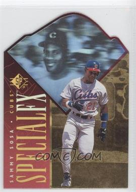 1996 SP - Holoview Special FX - Die-Cut #33 - Sammy Sosa