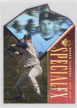 1996 SP - Holoview Special FX - Die-Cut #38 - Roger Clemens