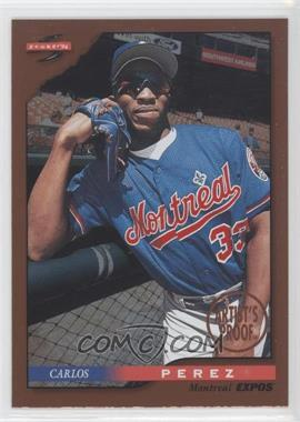 1996 Score - [Base] - Dugout Collection Artist's Proof #83 - Carlos Perez