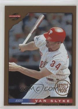 1996 Score - [Base] - Dugout Collection Artist's Proof #97 - Andy Van Slyke