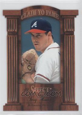 1996 Select - Claim to Fame #2 - Greg Maddux /2100