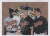 Bobby Bonilla, Cal Ripken Jr., Mike Mussina