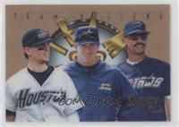 Craig Biggio, Jeff Bagwell, Derek Bell