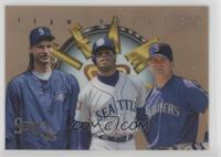 Edgar Martinez, Ken Griffey Jr., Randy Johnson