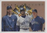 Edgar Martinez, Ken Griffey Jr., Randy Johnson