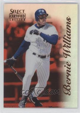 1996 Select Certified Edition - [Base] - Mirror Red #25 - Bernie Williams /90