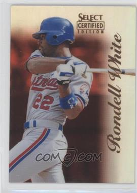 1996 Select Certified Edition - [Base] - Mirror Red #29 - Rondell White /90