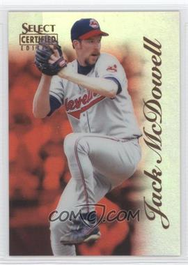 1996 Select Certified Edition - [Base] - Mirror Red #88 - Jack McDowell /90