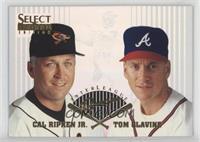 Cal Ripken Jr., Tom Glavine